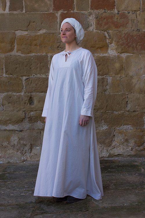 camisa medieval mujer