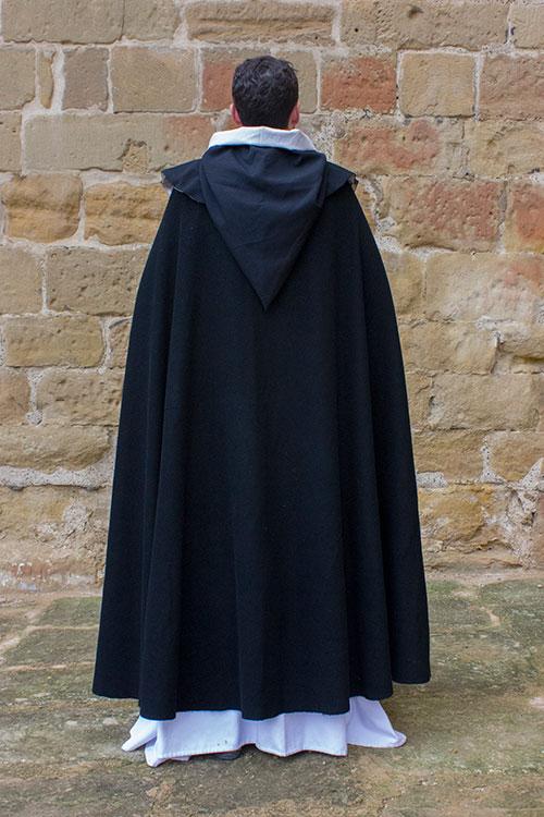 traje medieval monje dominico
