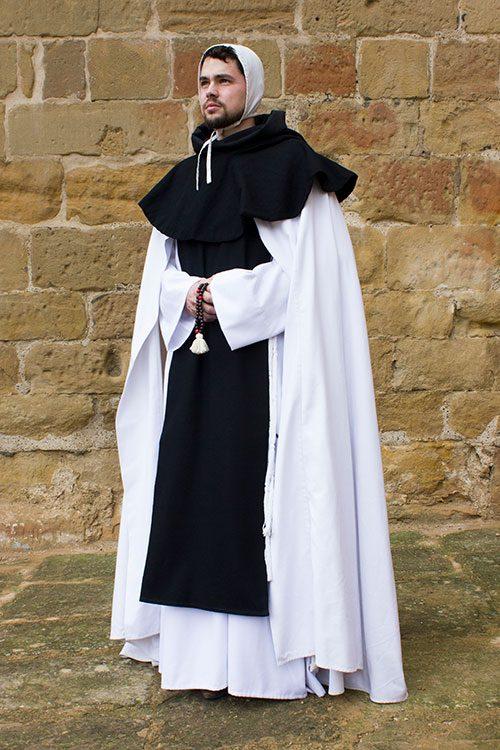 Monje cisterciense medeival