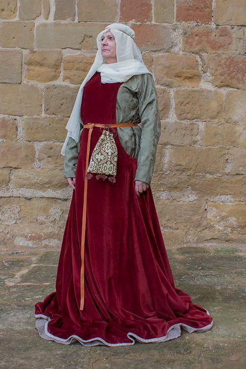 Pellote medieval de mujer