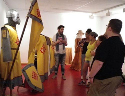 Exposición trajes medievales del taller de indumentaria