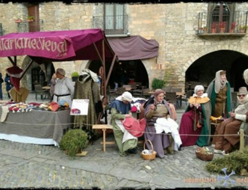 Indumentaria Medieval presente en el Marchus Ville Ainse