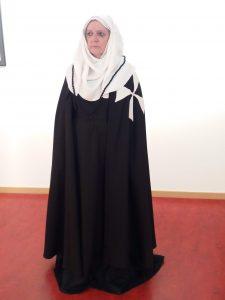 Los trajes formarán parte de una exposición sobre el monasterio de Sijena