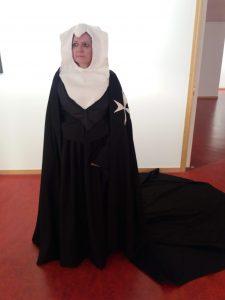 Indumentaria Medieval confeccionó replicas trajes de las monjas de Sijena
