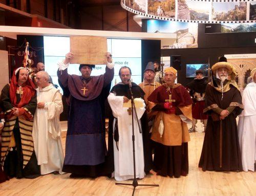 Los trajes de Indumentaria Medieval, en FITUR