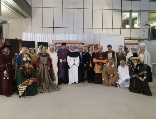 Indumentaria Medieval viaja a Bruselas con el Compromiso de Caspe