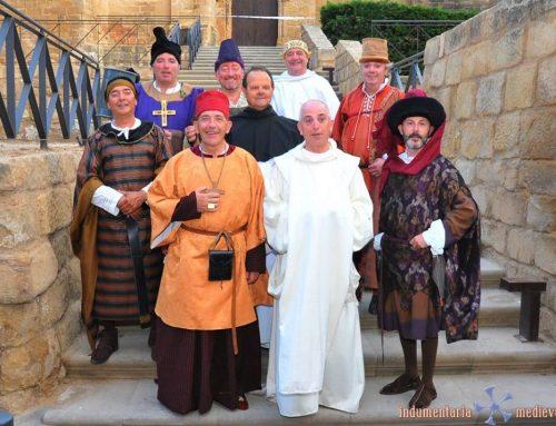 Claves de la indumentaria medieval masculina en el Compromiso de Caspe
