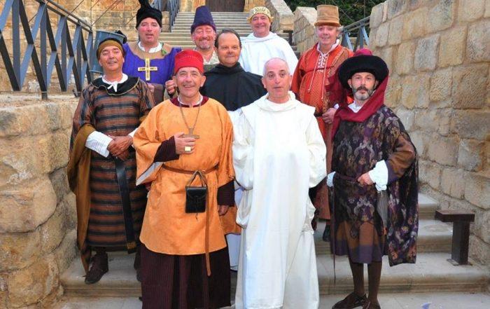 Vestuario de los nueve compromisarios del Compromiso de Caspe