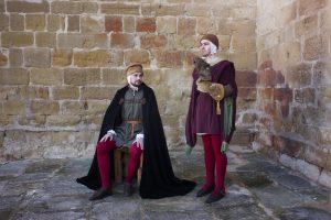 vestuario masculino medieval del siglo XV